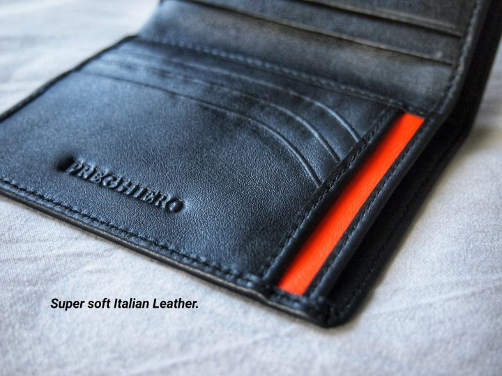 The New Preghiero Note 2 in Italian Leather
